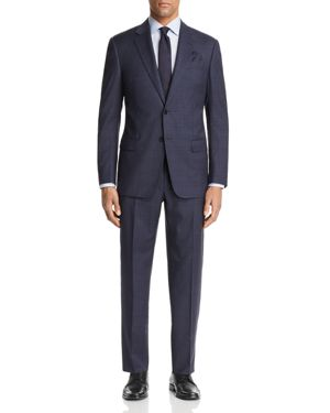 Emporio Armani Large Check Regular Fit Suit thumbnail