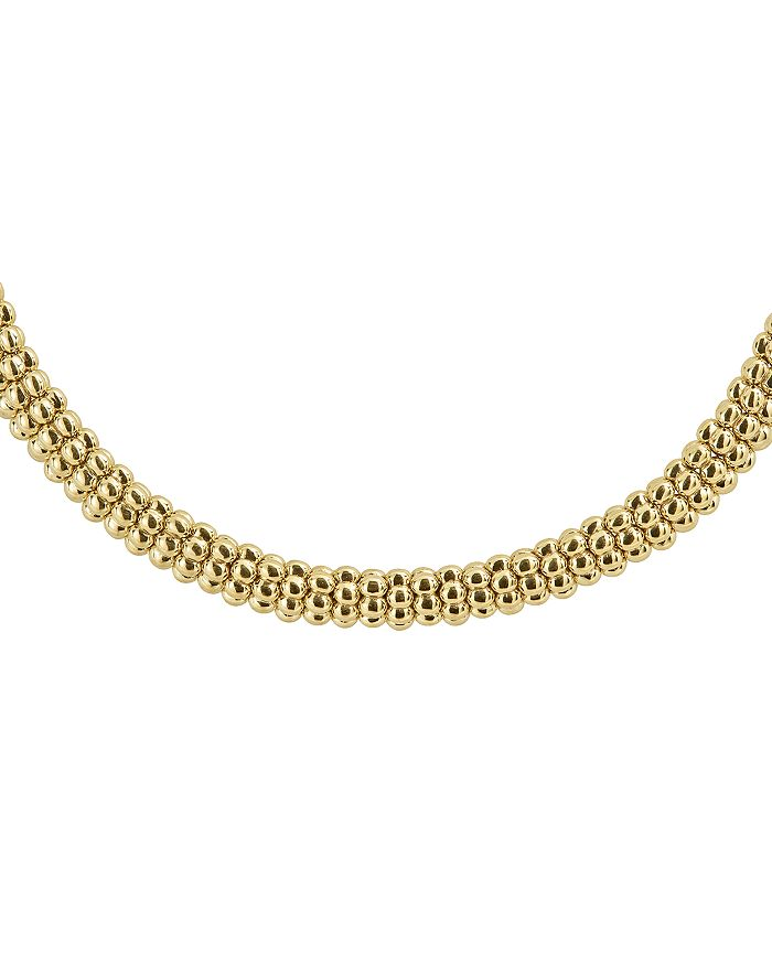 """LAGOS - Caviar Gold Collection 18K Gold Rope Necklace, 16"""""""