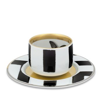 Vista Alegre - Sol y Sombra by Christian Lacroix Espresso Cup & Saucer