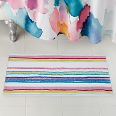 bluebellgray - Kech Striped Bath Rug