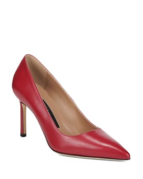 Via Spiga - Women's Nikole Leather Pointed Toe High-Heel Pumps
