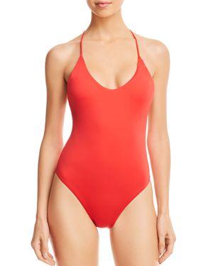 Dolce Vita Triangle Hardware Back One Piece Swimsuit