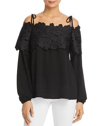 MICHAEL Michael Kors - Floral Lace Off-the-Shoulder Top - 100% Exclusive
