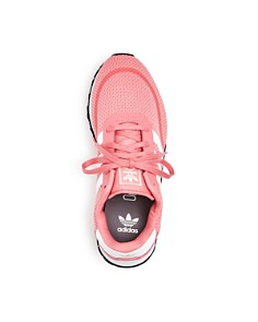 Adidas - Unisex Iniki Knit Lace Up Sneakers - Toddler, Little Kid