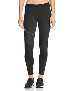 adidas by Stella McCartney - Essentials Mesh-Inset Leggings