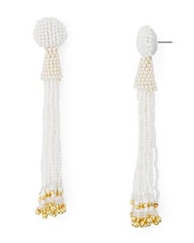AQUA - Fringe Drop Drop Earrings - 100% Exclusive
