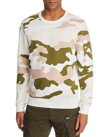 G-STAR RAW - Stalt Camouflage Crewneck Sweatshirt