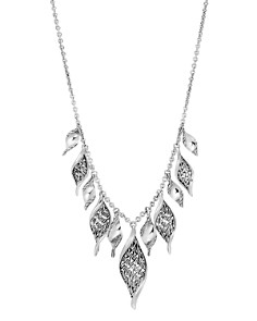 """John Hardy Sterling Silver Classic Chain Wave Frontal Necklace, 16"""" - Bloomingdale's_0"""