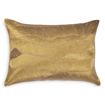 "Michael Aram - After the Storm Gold Decorative Pillow, 14"" x 20"""