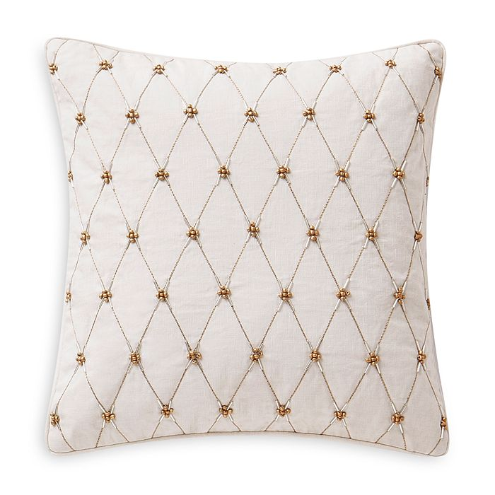 Waterford Annalise Decorative Pillow, 14 X 14 In Gold