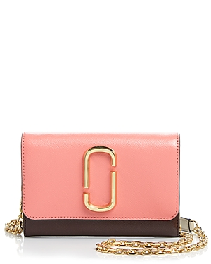 Marc Jacobs Leather Chain Wallet