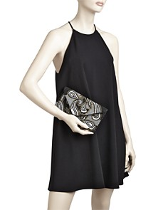 From St Xavier - Paisley Beaded Clutch
