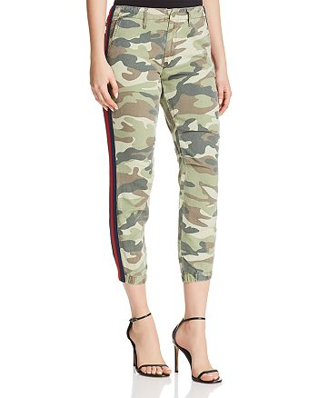2549603095b6e6 MOTHER The Misfit Side-Stripe Camo Pants   Bloomingdale s