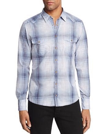 BOSS - Erodeo Western Plaid Sport Shirt