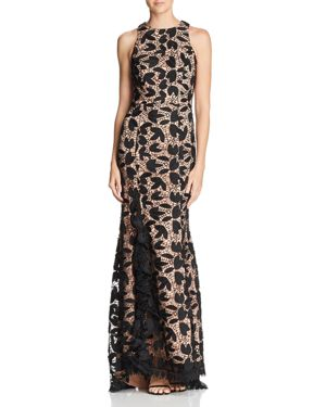 JARLO Petal Lace Gown - 100% Exclusive in Black