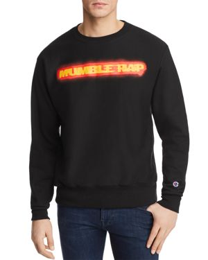 Bravado Belly Mumble Rap Crewneck Sweatshirt