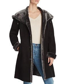 Maximilian Furs - Lamb Shearling Button Coat - 100% Exclusive