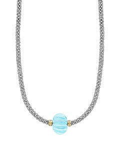 LAGOS 18K Gold & Sterling Silver Gemstone Melon Bead Necklace - Bloomingdale's_0