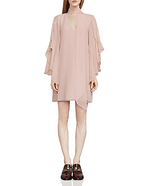 Bcbgmaxazria Caia Ruffle-Sleeve Shift Dress