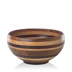 "Dansk Signy Striped Wood 12"" Bowl - 100% Exclusive - Bloomingdale's_0"