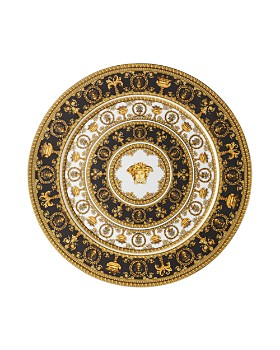Versace By Rosenthal - I Love Baroque Noir Limited Edition Service Plate
