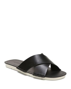 Vince Women's Nico Leather Slide Sandals
