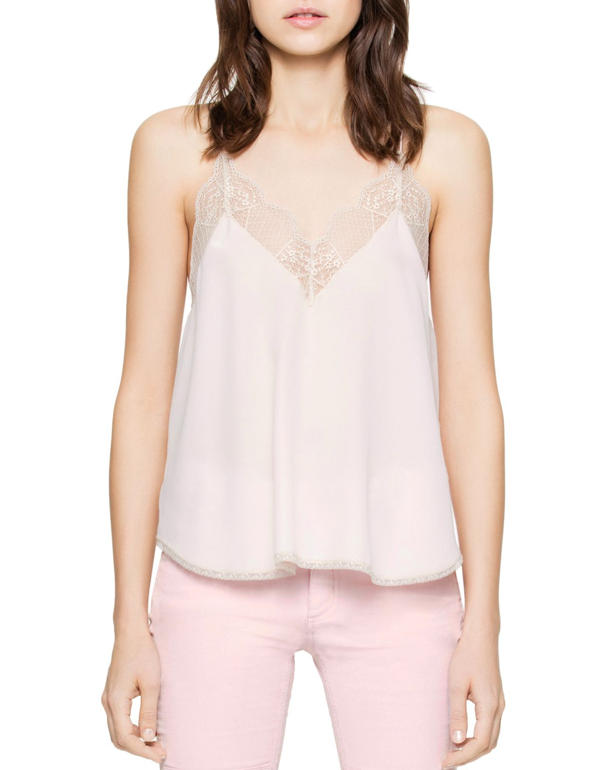 Christy Silk Camisole Top by Zadig &Amp; Voltaire