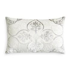 "Kevin O'Brien Studio - Persian Flocked Velvet Decorative Pillow, 12"" x 18"""