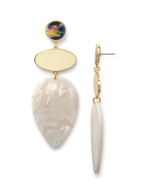 Baublebar Fareena Iridescent Drop Earrings