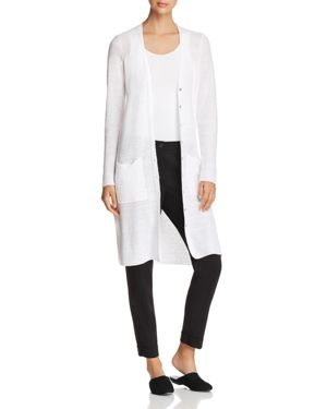 Eileen Fisher Open-Work Knit Duster Cardigan - 100% Exclusive