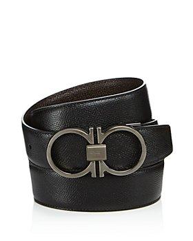 Salvatore Ferragamo - Men's Double Gancini Belt
