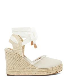 IVANKA TRUMP - Women's Iara Platform Wedge Espadrille Sandals
