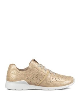 UGG® - Women's Tye Stardust Leather Lace Up Sneakers