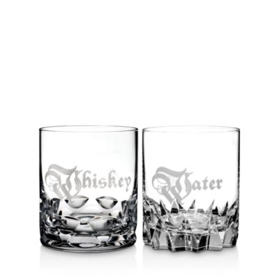 $Waterford Whiskey & Water Double Old Fashioned, Set of 2 - Bloomingdale's