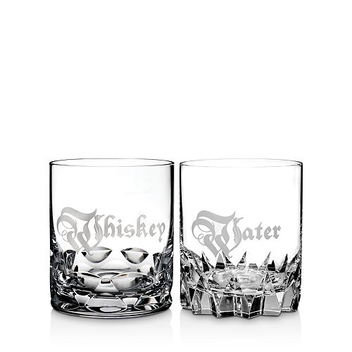 Waterford - Whiskey & Water Double Old Fashioned, Set of 2