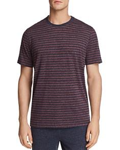 Daniel Buchler Striped Lounge Short Sleeve Tee - Bloomingdale's_0