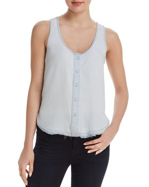 DL1961 N 6th & Berry Chambray Top
