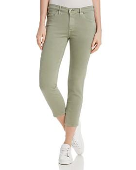 AG - Prima Crop Skinny Jeans in Sulfur Dry Cypress - 100% Exclusive