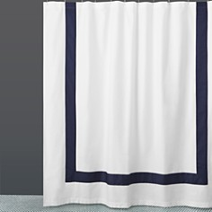 Hudson Park Collection - Border Shower Curtain - 100% Exclusive