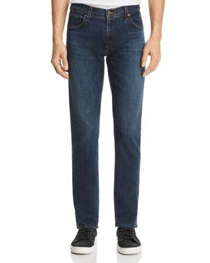 J Brand Tyler Slim Fit Jeans in Piskovec