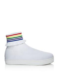 Opening Ceremony - Women's Bobby Ruffled Sock Slip-On Sneakers