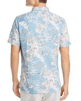 Barney Cools - Tropical Holiday Short Sleeve Button-Down Shirt