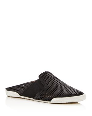 WOMEN'S MELANIE PERFORATED LEATHER MULES