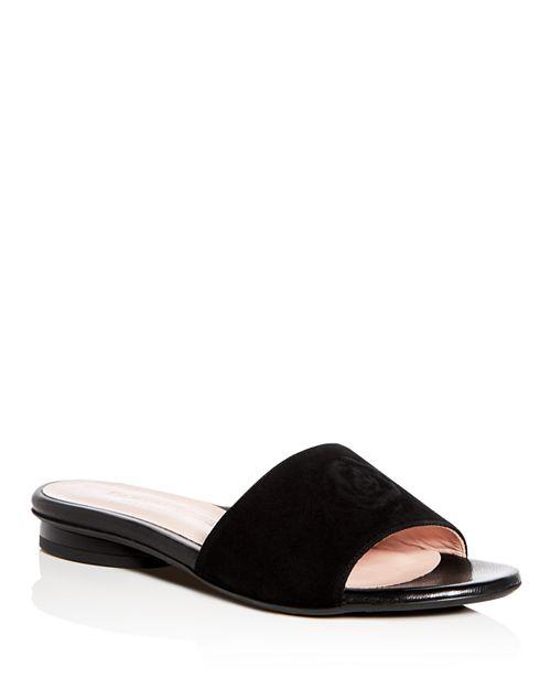 Taryn Rose - Women's Dahna Suede Slide Sandals
