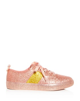 Opening Ceremony - Women's La Cienega Glitter Lace Up Platform Sneakers
