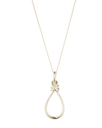 Ralph Lauren - Knot Pendant Necklace, 34""