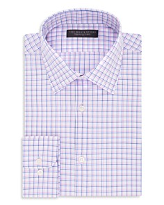 The Men's Store at Bloomingdale's Checked Regular Fit Dress Shirt_0