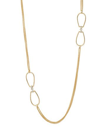 """Roberto Coin - 18K Yellow Gold Classic Parisienne Necklace, 40"""" - 100% Exclusive"""