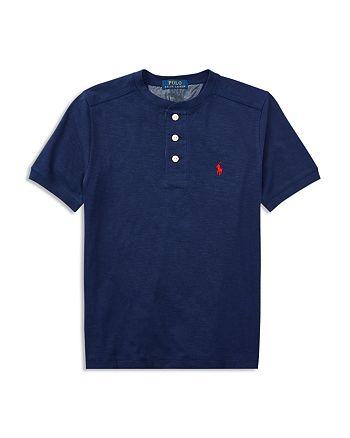Ralph Lauren - Boys' Cotton Jersey Henley Shirt - Big Kid