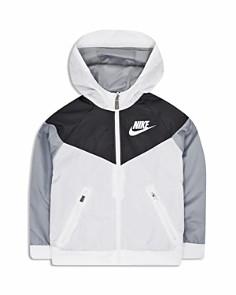 Nike - Boys' Windrunner Hooded Windbreaker Jacket - Little Kid